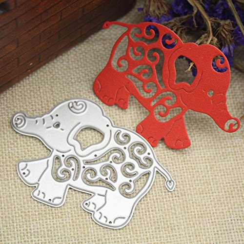Wenini Cutting Dies, Happy Halloween Metal Cutting Dies Embossing Die Cuts Scrapbooking Dies Metal Cut for Card Bookmark Decor Tools Cutting Dies for Scrapbooking (P❤️) -