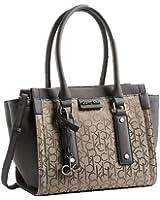 Calvin Klein Daron Logo City Tote Shoulder Bag Handbag