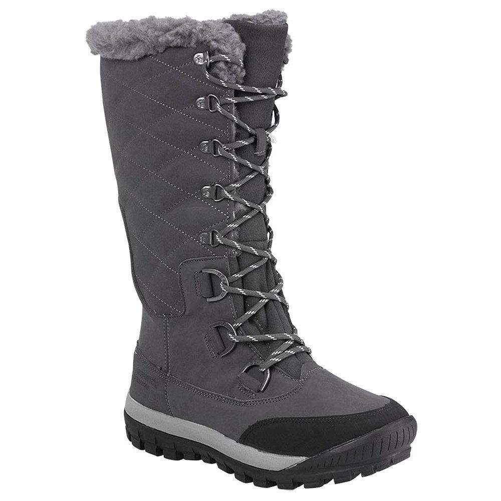 BEARPAW Women's Isabella Winter Boot, Charcoal, 9 M US