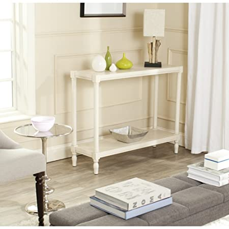 Safavieh AMH5735B American Homes Collection Bela Console Table, White