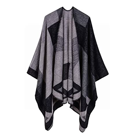 5f12337425 Amazon.com: CWJ Autumn and Winter Ladies Scarf Diamond Point ...