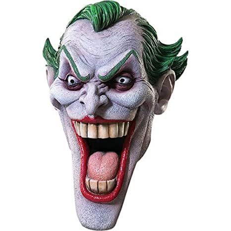 Rubies Costume Co Adult Batman Joker Mask (máscara/careta)