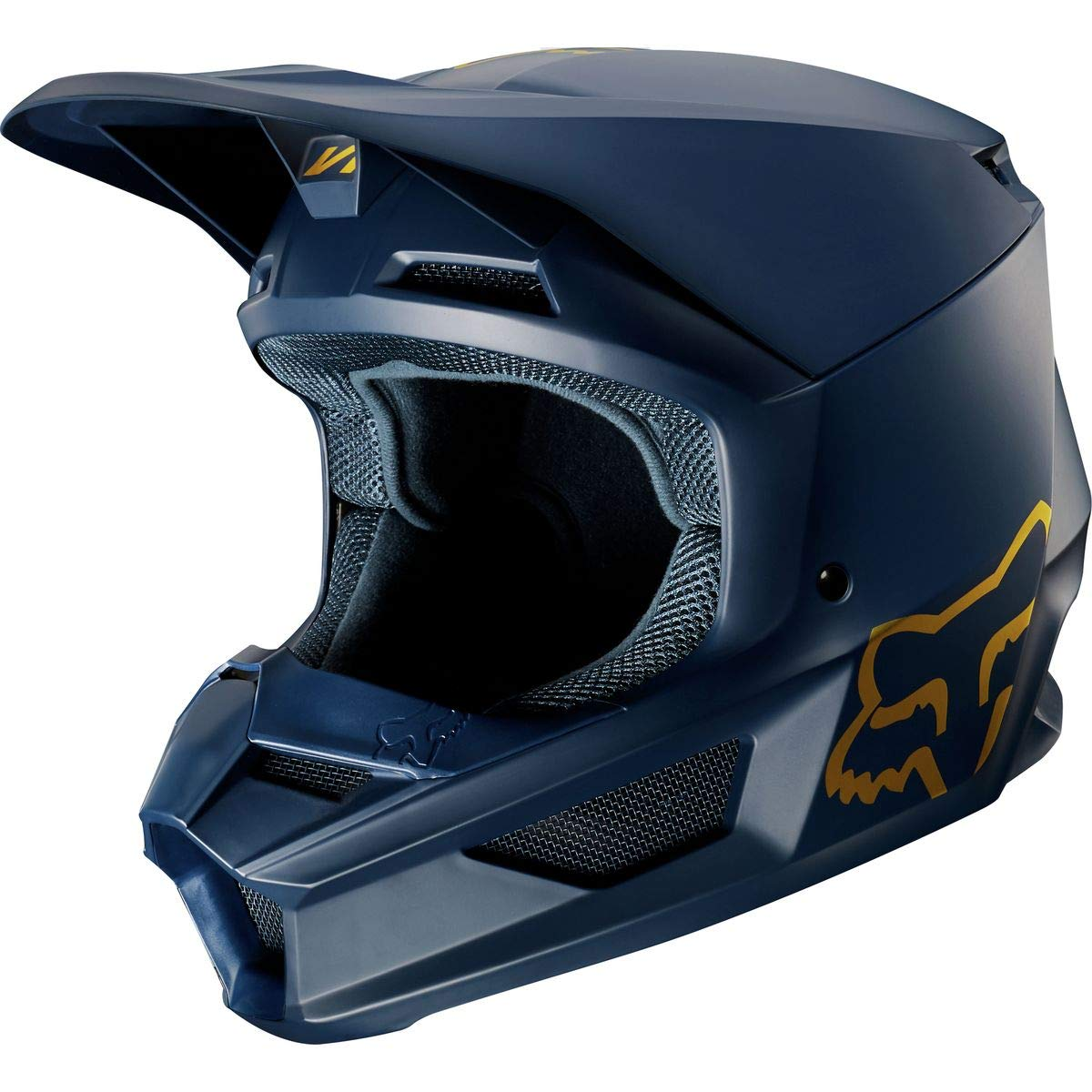 Helmet Fox V-1 Se Navy//Gold L