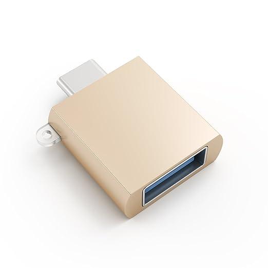 6 opinioni per SATECHI Adattatore da USB 3.1 Type-C a USB 3.0- Oro
