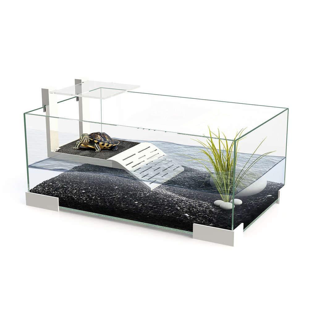 Ciano Tartarium 40 Turtle Terrapin Reptile Glass Tank with Ramp