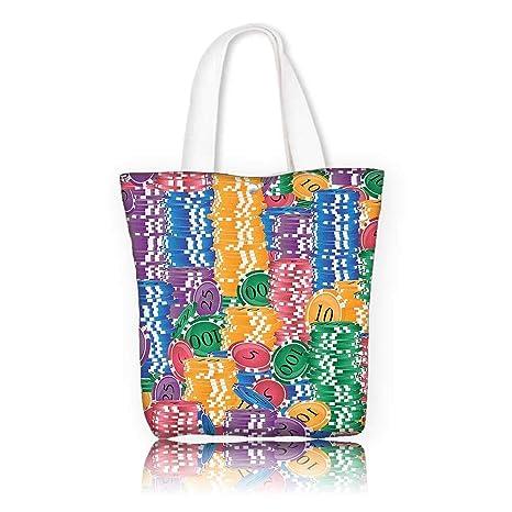 110aa6ccf394 Amazon.com: Canvas Tote Bag -W23 x H14 x D7 INCH/Tote Laptop Beach ...