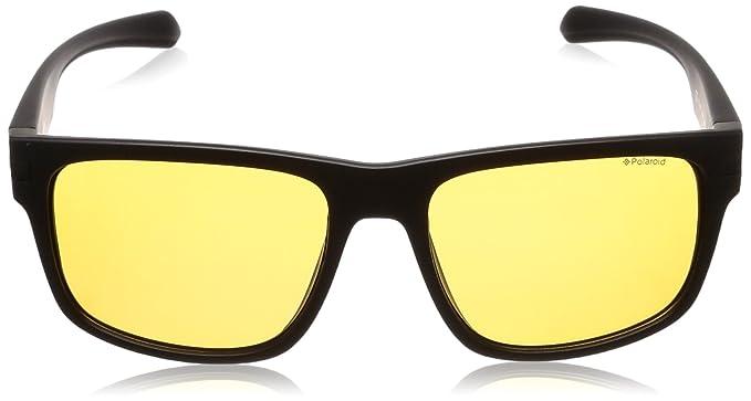 6a1fccb1c051 Polaroid Men s Sunglasses Black noir mat 56  Amazon.co.uk  Clothing