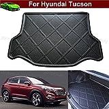 Car Mat Boot Pad Carpet Cargo Liner Trunk Liner Tray Floor Mat For Hyundai Tucson 2015 2016 2017