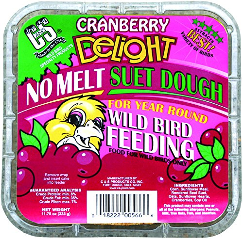 Cranberry Delight Melt Suet Birds product image