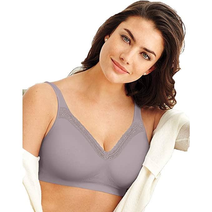 bc046792ee0fd Bali Bali Women's Comfort Revolution Wirefree Bra With Smart Sizes ...