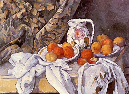 Aenx Paul Cezanne - Still Life with Curtain and Flowered Pitcher The State Hermitage Museum - St Petersburg 30