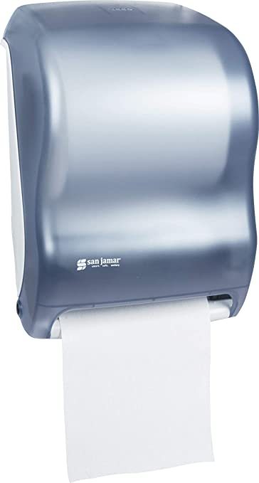 Details about  /San Jamar T1300 Tear N Dry Electronic Touchless Roll Towel Dispenser bathroom