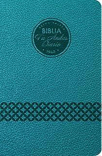 Biblia tu Andar Diario / piel especial / azul marino // Your Daily Walk Bible