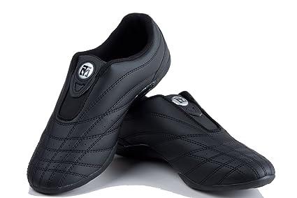 wholesale dealer 52c14 5b9f5 Mooto Wings Korea TaeKwonDo Shoes TKD Competition TwotoneBlack 4 12 to 14  (Black