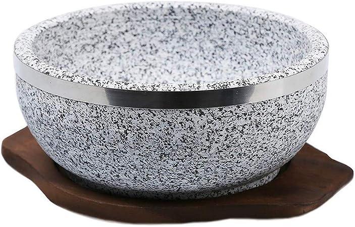 Cuisine de granit chaud Pierre à Pierre Pizza cuisson Wok chaud de Pierre de granit