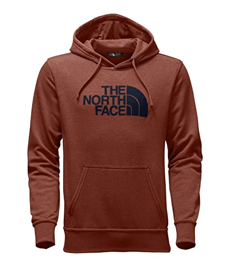 793e1a3d4 The North Face Men's Half Dome Hoodie - Ketchup Red Heather & Urban Navy - M
