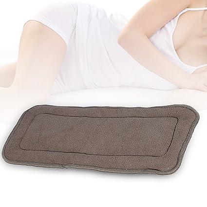 5 capas de Almohadilla menstrual compresa pañales reutilizables reutilizables Estera de bambú para las mujeres y