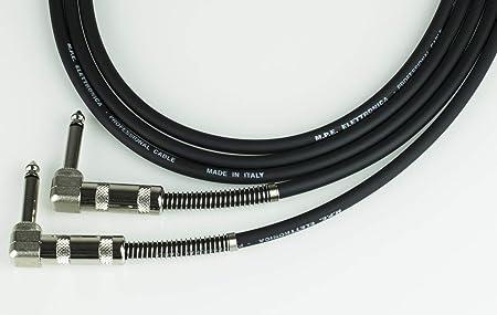 MPE Cable de Guitarra teclado 3mt montado bajo con 2 ...