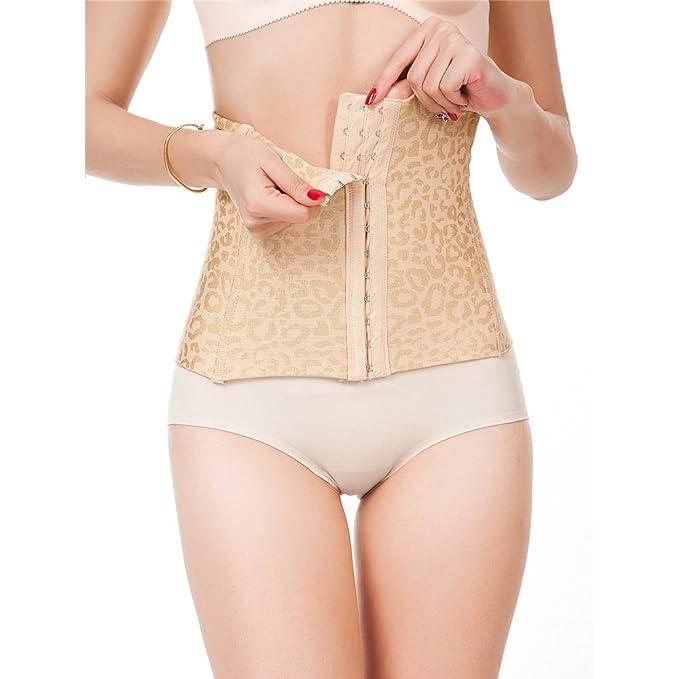 5b48181631 Pop Fashion Womens Waist Trainer Corset Body Shaper Tummy Control Shapewear  Comfort Waist Trainer with Flat