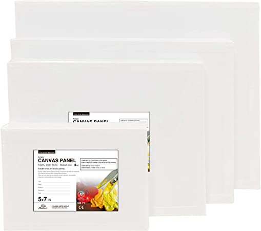 11x14 Inch // 26 Pack 100/% Cotton Artist Painting Canvas Boards Value Pack for Oil /& Acrylic Painting Canvas Panels 8 Oz