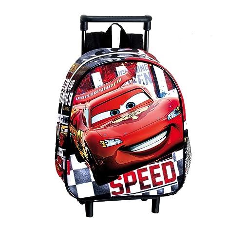 926d34b07bb806 Disney Cars - Zaino Trolley Asilo Rosso e Nero: Amazon.it: Giochi e ...