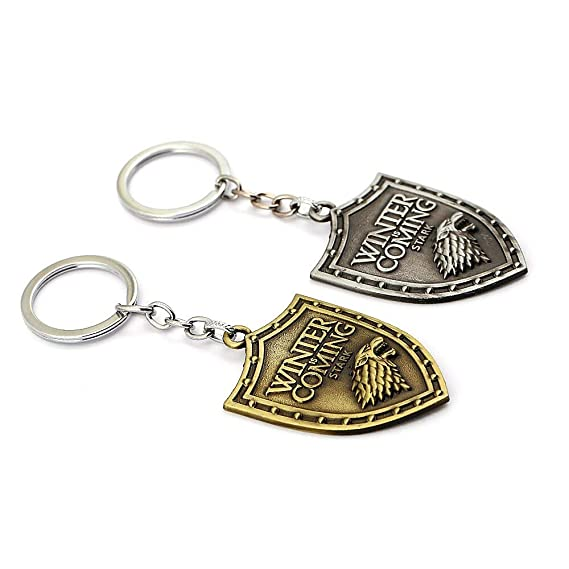 Amazon.com: FITIONS - Game of Thrones Keychains Dragon House ...