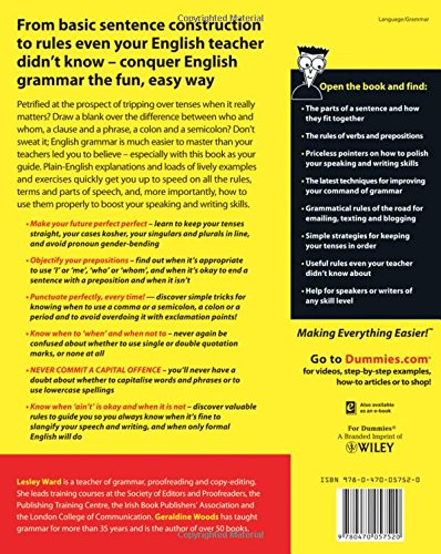 English grammar for dummies uk edition amazon lesley j english grammar for dummies uk edition amazon lesley j ward geraldine woods 9780470057520 books fandeluxe Images
