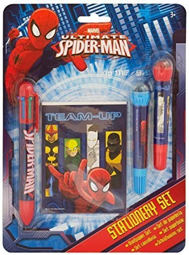 Ultimate Spiderman Notepad Stationery Set by Ultimate Spiderman: Amazon.es: Juguetes y juegos