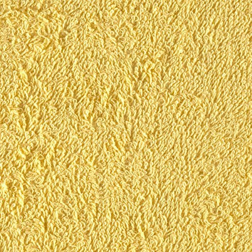 Richland Textiles TCR-002 Terry Cloth Yellow Fabric by The Yard,