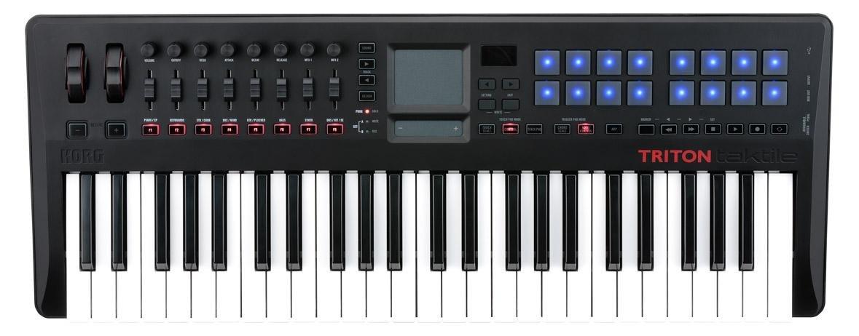 Korg Triton taktile de 49 - Controlador & Sintetizador: Amazon.es: Instrumentos musicales