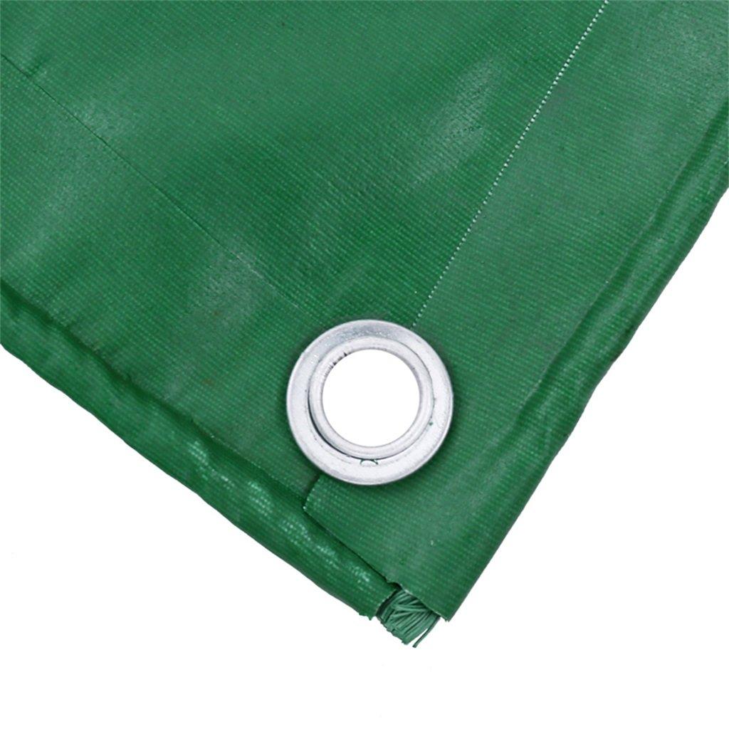 LQQGXL Tarpaulin-Planefracht-Sonnenschutzisolierung abnutzungsbeständiges grün Holzschutztuchstoffkrepp, grün abnutzungsbeständiges Wasserdichte Plane c70b52
