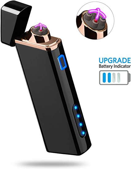 NEW Electric LIGHTER Windproof Lighter Torch USB Flameless Plasma Rechargeable