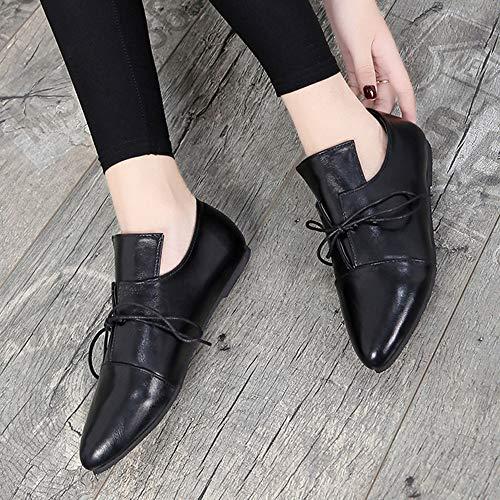 Quatre Origine Alikeey Sexy Cheville Bandage Casual Femmes Saisons Botte Chaussures Point tage Unisexe Noir Femme Court OOrqaw