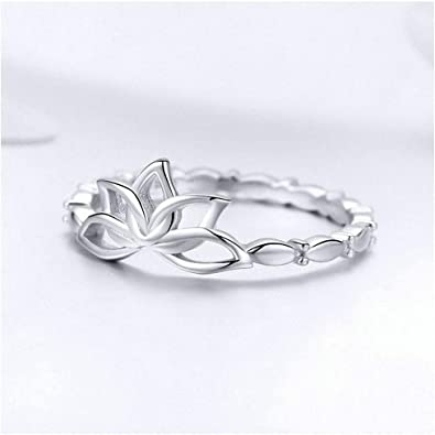 Lotus Ring Sterling Silver