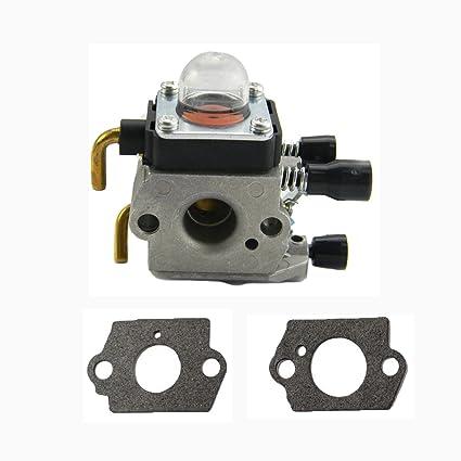 Savior Carburetor Carb Gasket For Stihl FS38 FS45 FS46 FS55 Fs74 Fs75 Fs76 Fs80 Fs80r Fs85 Fc75 Fc85 Sp80 Ht70 Ht75 Trimmer Zama C1q S157 C1q S69a