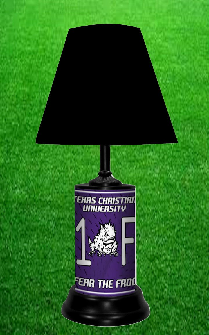 TEXAS CHRISTIAN UNIVERSITY HORNED FROGS NCAA LAMP - BY TAGZ SPORTS