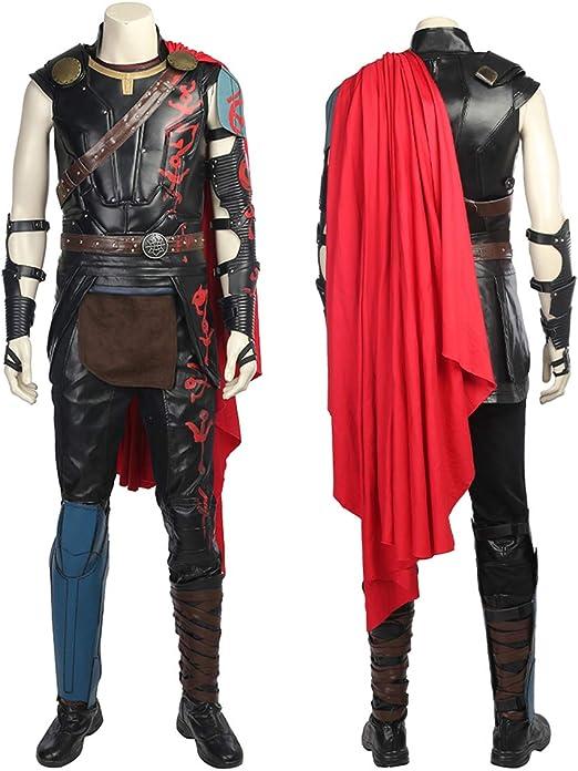 QWEASZER Thor 3 Ragnarök Marvel Avengers 1: 1 Disfraz Edición ...