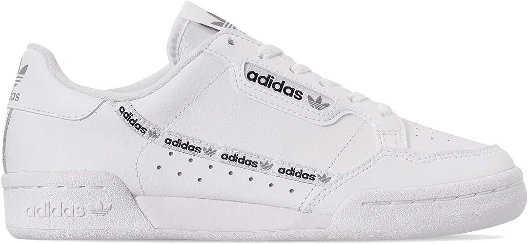 Amazon.com   adidas Continental 80 J Big Kids Eg3985   Sneakers