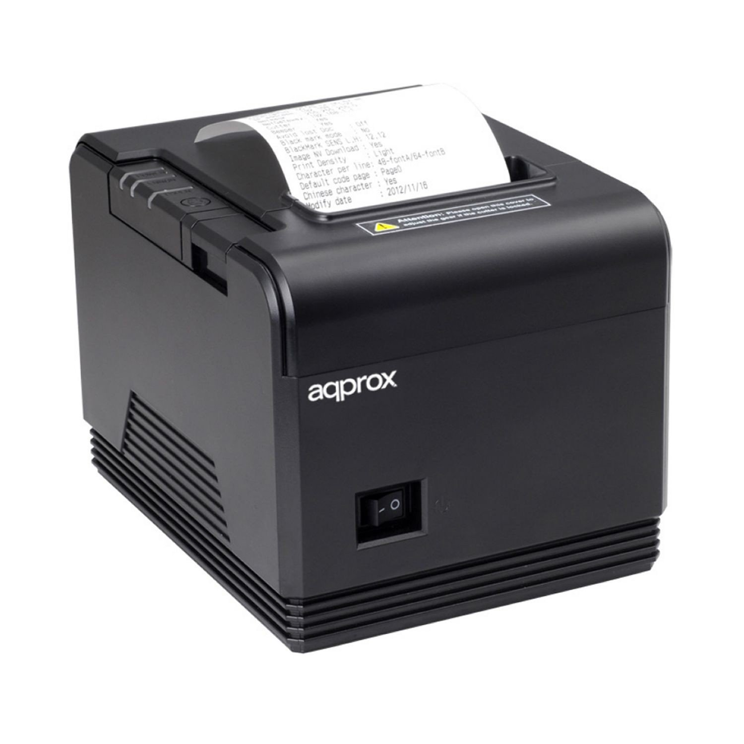 Approx APPPOS80AM3 Thermique directe POS printer 203 x 203DPI Imprimante avec un port infrarouge - Imprimantes Point de Vente (Thermique directe, POS printer, 200 mm/sec, 203 x 203 DPI, Noir, CODABAR (NW-7),Code 39,Code 93,Code-128 Codabar Library,EAN13,EA