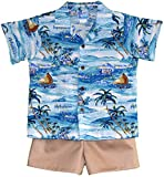 RJC Boys Islanders Hawaiian 2pc Set 4T