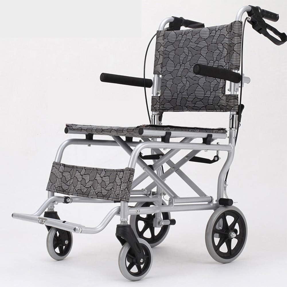 軽量の折る車椅子の運転の医学の大人の医療用品、年配の車椅子の携帯用年配の障害者の超軽い旅行子供の車椅子のトロリー小さい