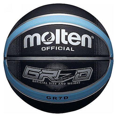 Molten Basketball BGRX Deep Channel Gr/ö/ße 6 Blau//Schwarz