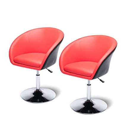 Egg Chair Accent Chairs.Amazon Com Magshion Egg Shaped Barber Salon Chair Tufted Bar Stool