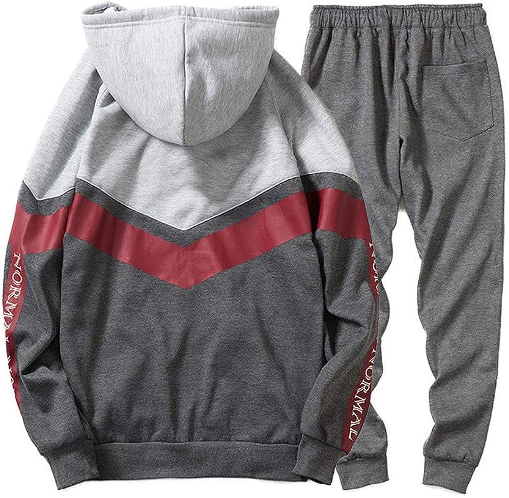 Casual Suit Gray-Medium Suit Sweatpants Ms lily Mens Sportswear