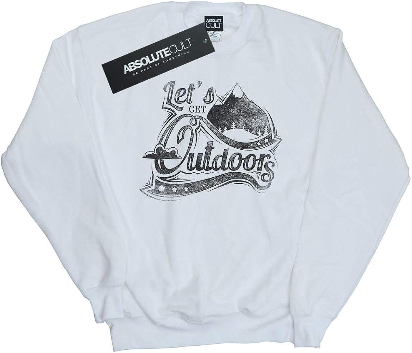 Absolute Cult Drewbacca Girls Lets Get Outdoors Sweatshirt