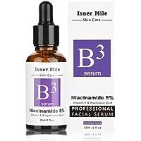Niacinamid 5% Vitamin B3 Facial Serum 30 ml, hyaluronsyra Serum Mycket doseras D.obsessed - Kliniskt bevisat behandling…