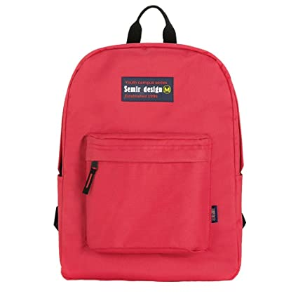 d6d9ae8b75d5 Amazon.com  Red Color Travel Laptop Backpack