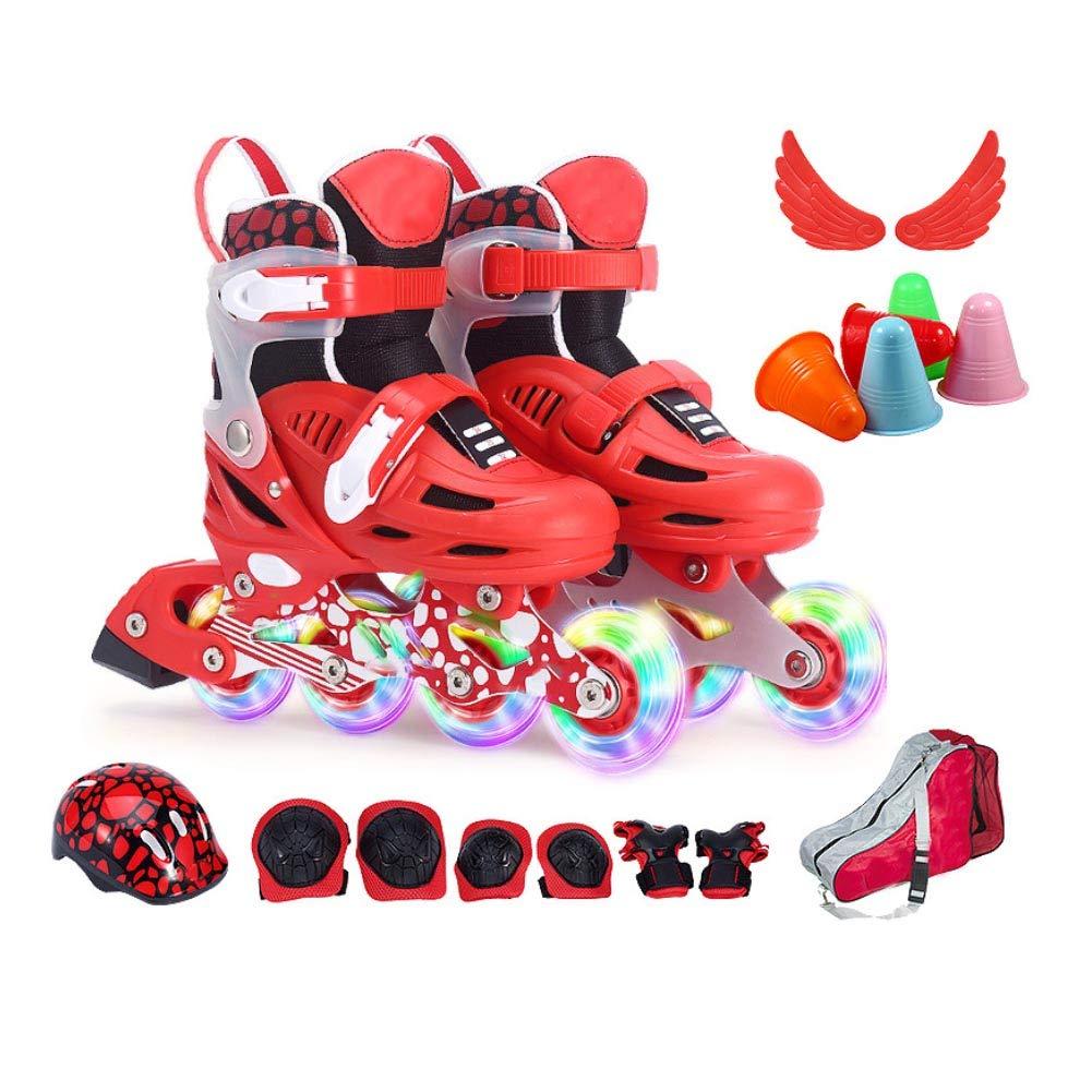【再入荷!】 スケートボード用ニーパッド,屋外用サイクリングスケートスポーツのための調節可能な耐衝撃性子供用ローラースケートリストバンド肘膝パッド(8pcs) B07QVZRKJG Large|Red Large|Red Red Large Red Large, ミホノセキチョウ:3f4ef847 --- a0267596.xsph.ru