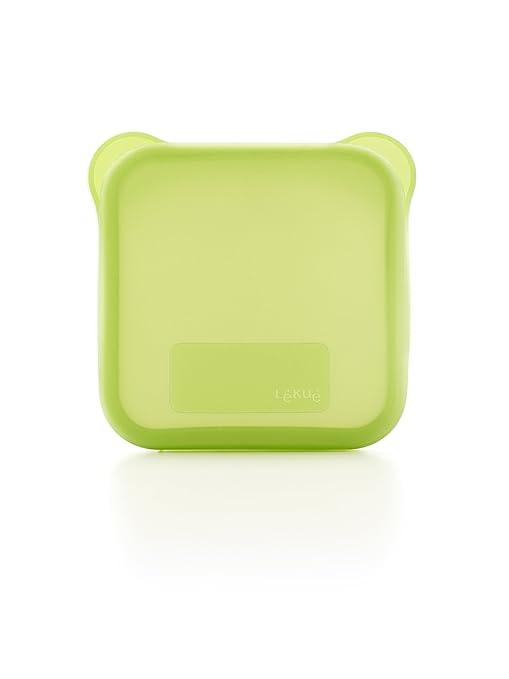 Lékué - Funda para Sandwich, Color Verde