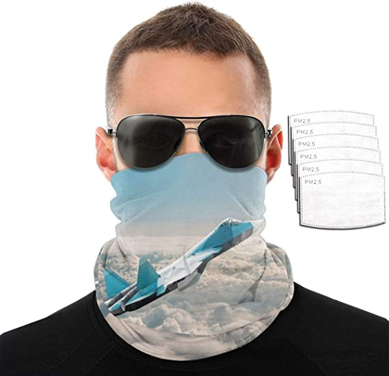 Tofern UV Protection Face Bandana Windproof Face Cover Balaclava Breathable for Summer Outdoor